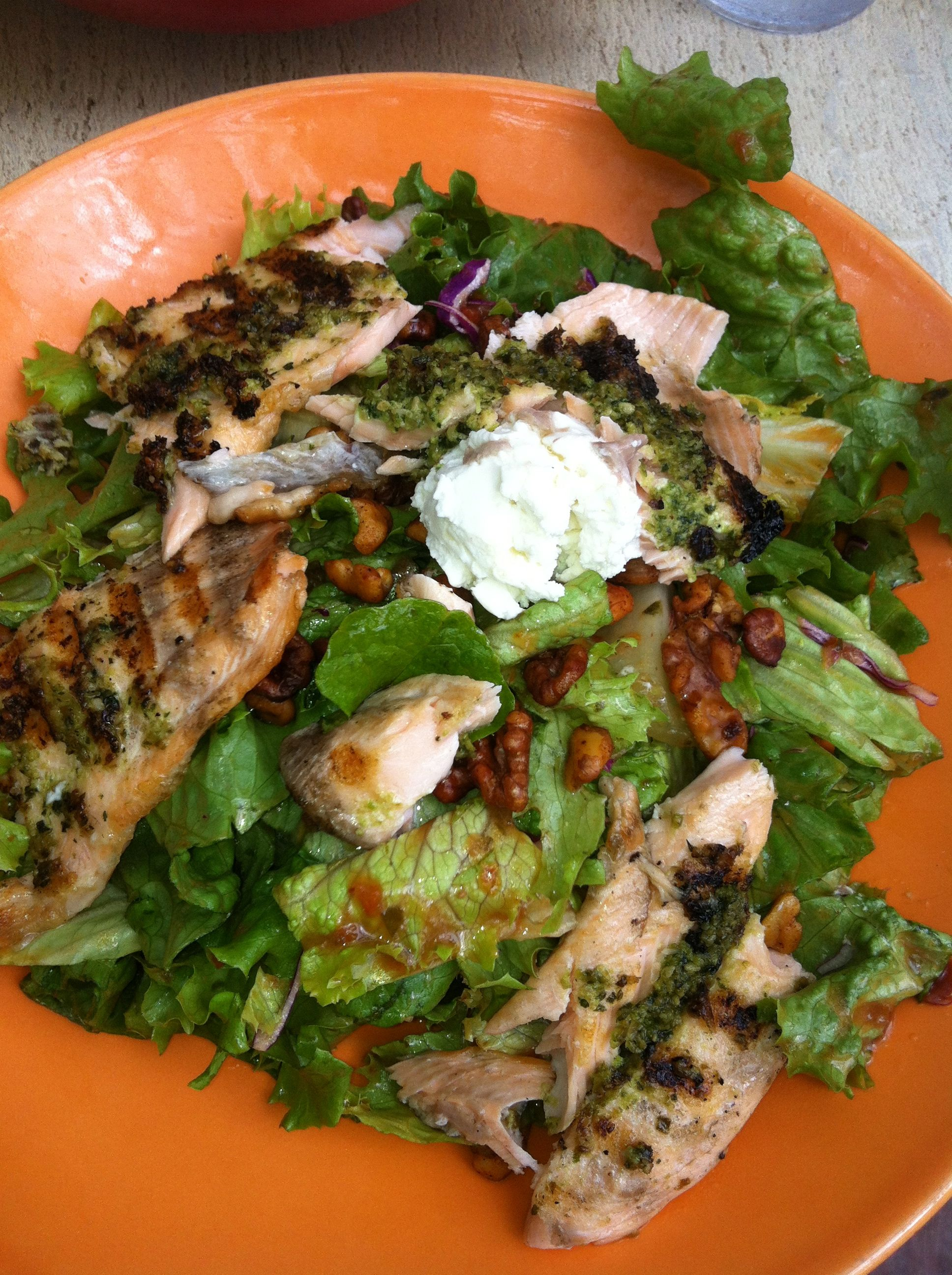 Ruby Red Trout Salad f...