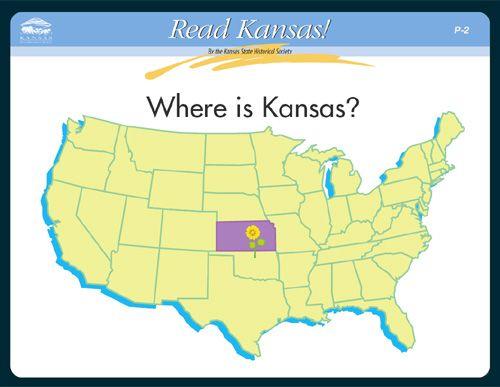 Where is Kansas?, Read Kansas! cards