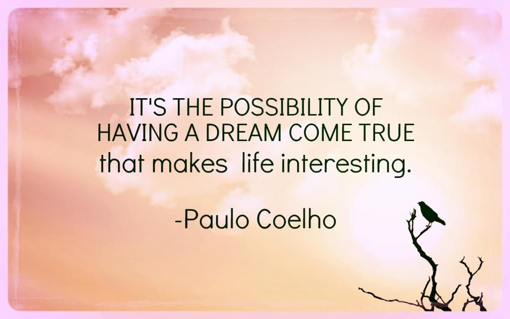 Its the possibility by paulo coelho quote quotes by paulo coelho quote thecheapjerseys Choice Image