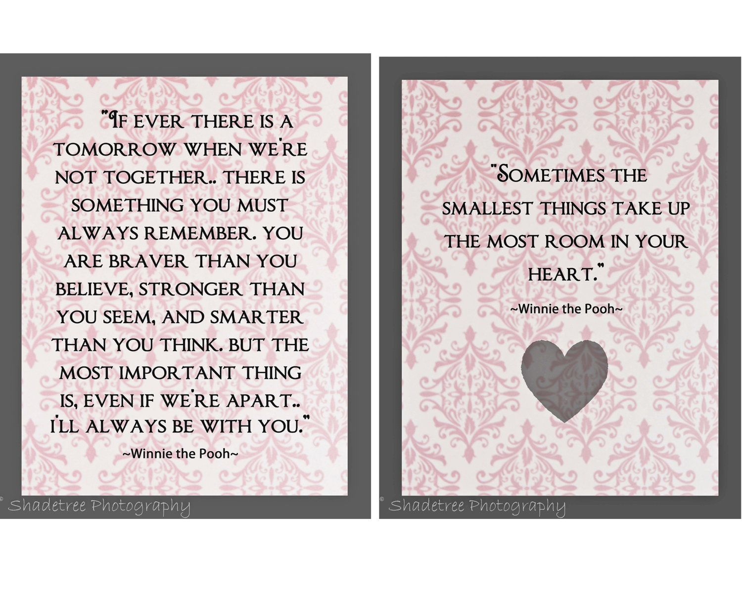 Pooh Love Quotes Winnie The Pooh Poohisms Aa Milne Pink Pastel Word Art Paisley