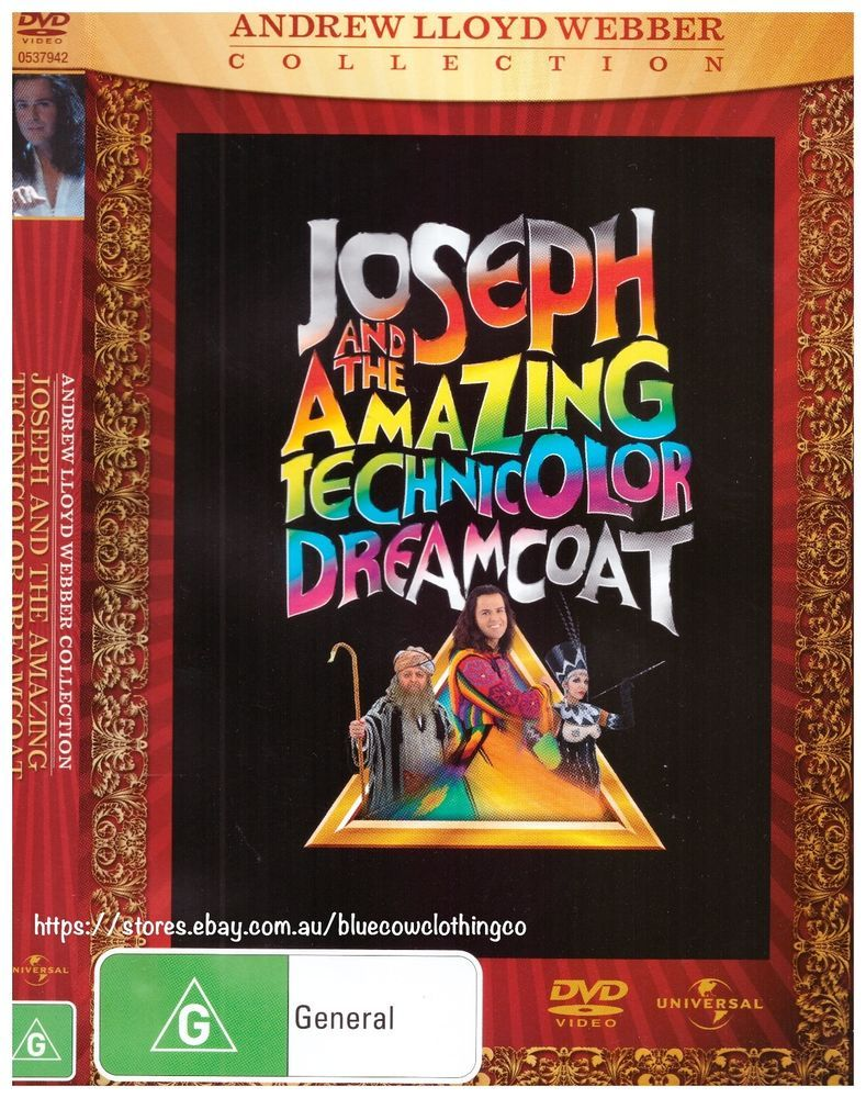 Joseph And The Amazing Technicolor Dreamcoat DVD R4 LIKE
