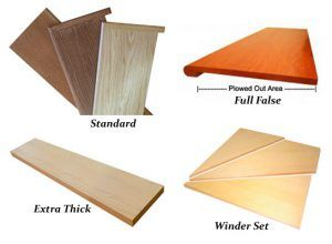 Best Solid Wood Stair Treads Oak Maple Birch Ash And 400 x 300