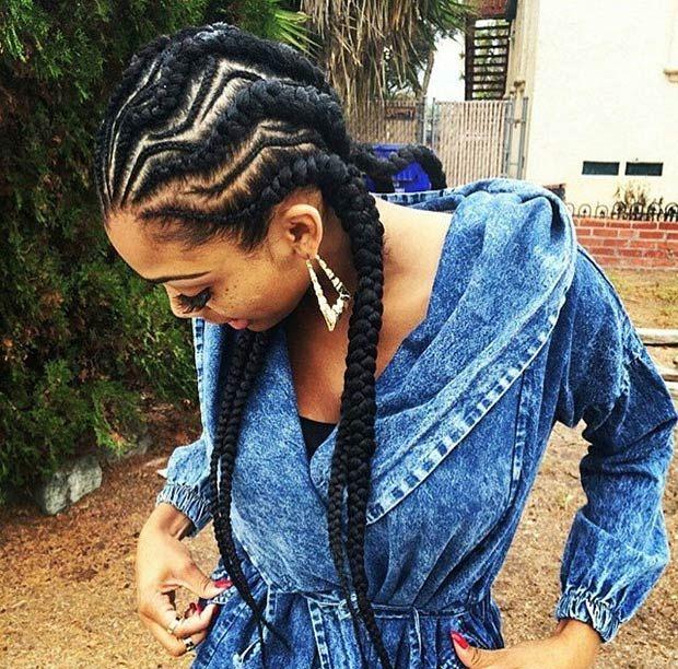 31 Stylish Ways To Rock Cornrows Stayglam Cornrow Hairstyles African Hairstyles African Braids Hairstyles