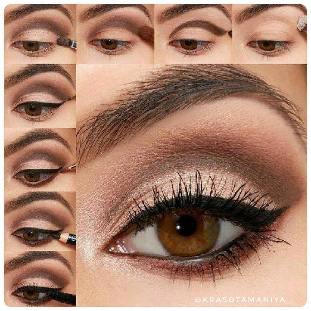 i like this.. #hazeleyemakeup | hooded eye makeup tutorial