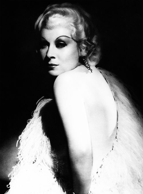 """""""Play mother parts, sad parts, dumb parts, or a virtuous wife, betrayed or otherwise. I pity weak women, good or bad, but I can't like them. A woman should be strong either in her goodness or badness."""" -Mae West, 15 Things I'll Never Do."""