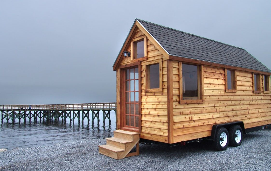 Tumbleweed tiny house cost built on wheels with lots of small