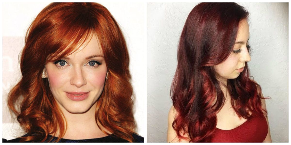 Red Hair Colors 2019 Top Stylish Red Hair Tints And Fashion Trends And Tips Red Hairstyles Haircuts Hair Hairstyle Hair Tint Red Hair Trends Hair Trends
