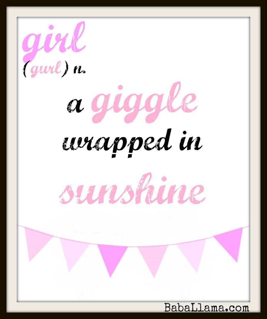 Baby Girl On The Way Quotes: Baby Girl Poems And Quotes. QuotesGram