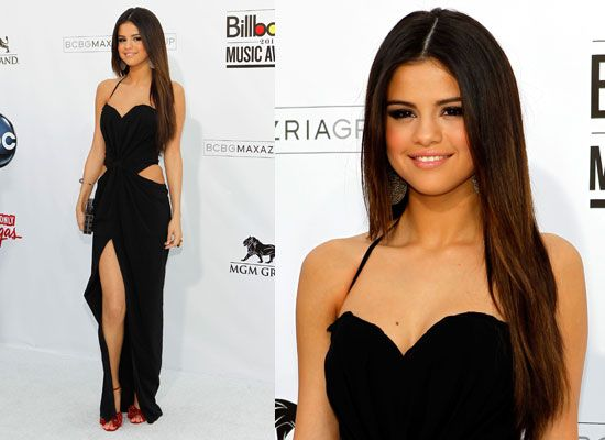 Selena-Gomez-sexy-black-dress | Celebrities Fashion | Pinterest ...