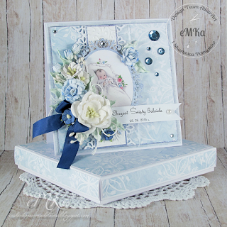 Reka Robione Chrzest Swiety Gabriela Chloes Creative Cards Vintage Cards Handmade Card Making Birthday