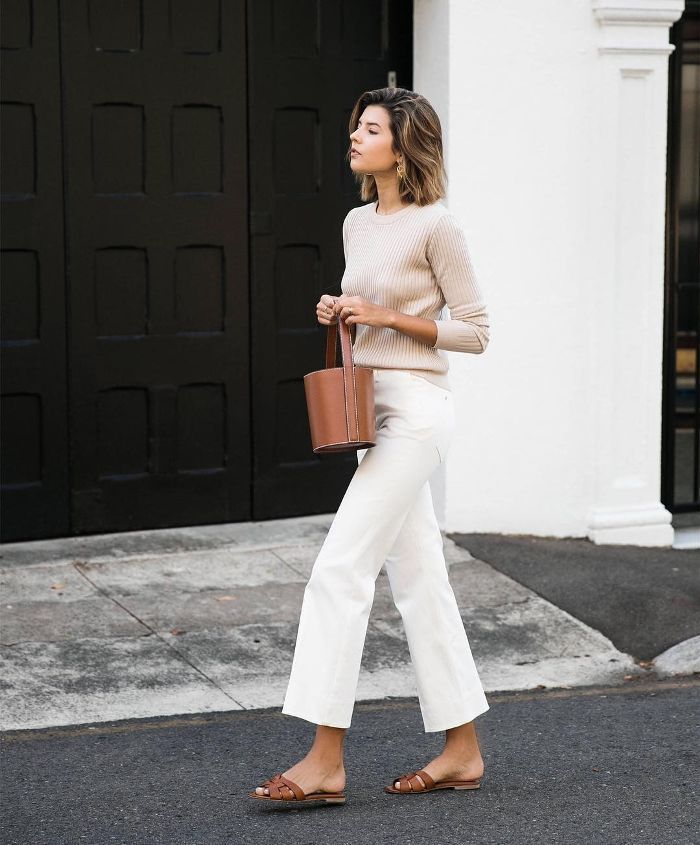 Photo of 15 Wide-Leg-Jean Outfits We're Copying This Spring   spring outfit, white jeans,…