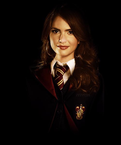 Shelley Henning As Gryffindor By Poketjud Shelley Malia Tate Malia Hale