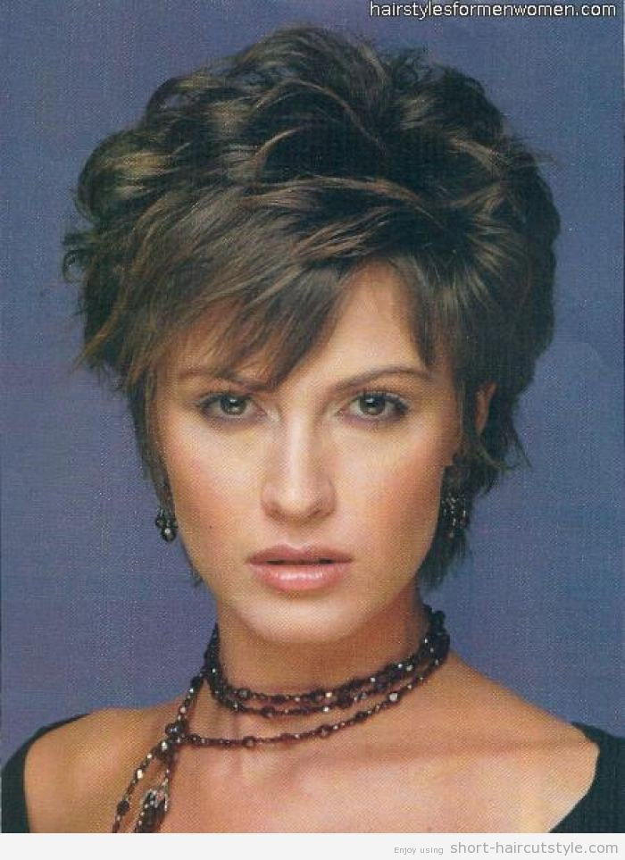 current short hairstyles for women over 50 | for-Women-Over-50 - Short Curly Hairstyles for Women Over 50 – Short ...