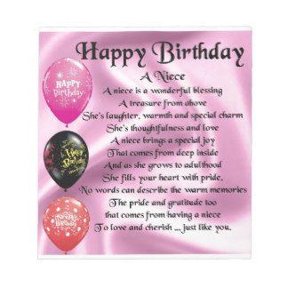 message anniversaire pour niece
