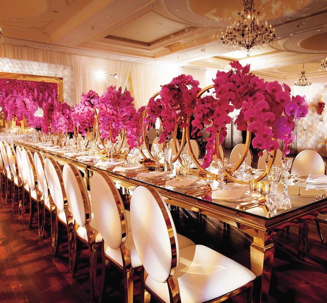 Wedding decorations black and gold   Likes  Comments  Grace Ormonde Wedding Style weddingstyle
