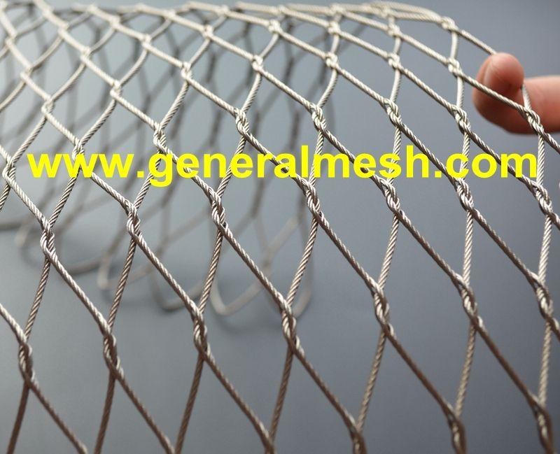 Plasa Luminoasa Decorativa Mesh Stainless Steel Cable Stainless Steel