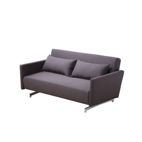 J M Furniture Premium Sofa Bed Jk042 3i In Brown Leatherette