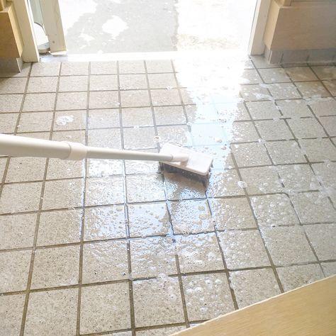 ズボラさんの強い味方 オキシクリーン で家中ピカピカ オキシクリーン 玄関 掃除 ベランダ 掃除