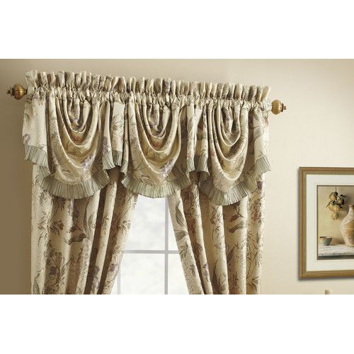One Rod Curtains With Valance Ellis Curtain Coventry Rod Pocket