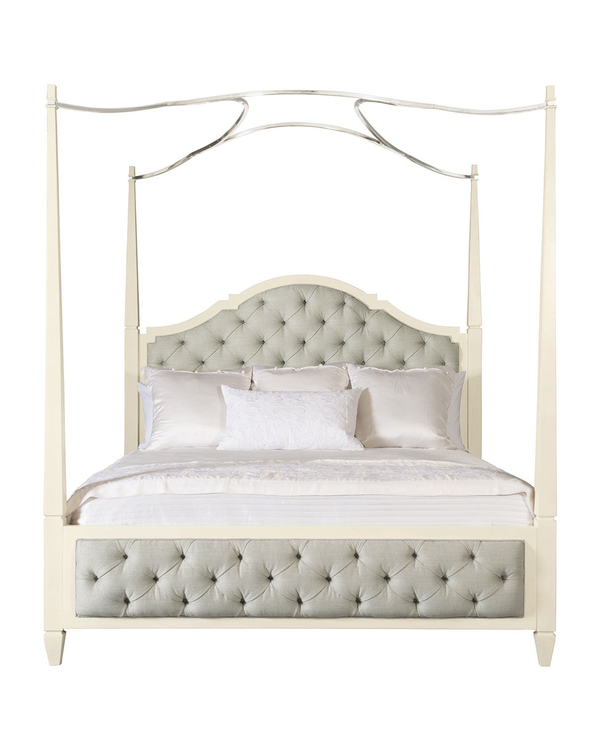 Natalie King Tufted Canopy Bed in Beds Pinterest Bed
