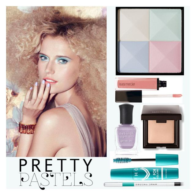 """Beautifully in Pastel"" by bklou ❤ liked on Polyvore featuring beauty, Laura Mercier, Givenchy, Deborah Lippmann and Marc Jacobs"