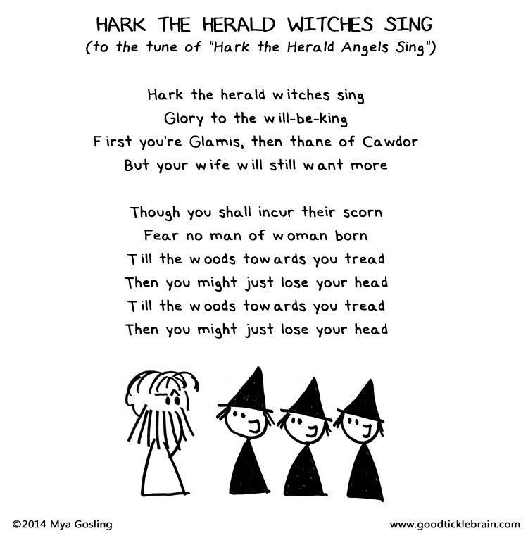 Shakespearean Christmas Carols — Good Tickle Brain: A Mostly Shakespeare Webcomic