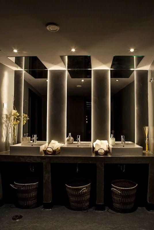 Revisi n interior restaurante sexto madrid ba os - Banos en madrid ...