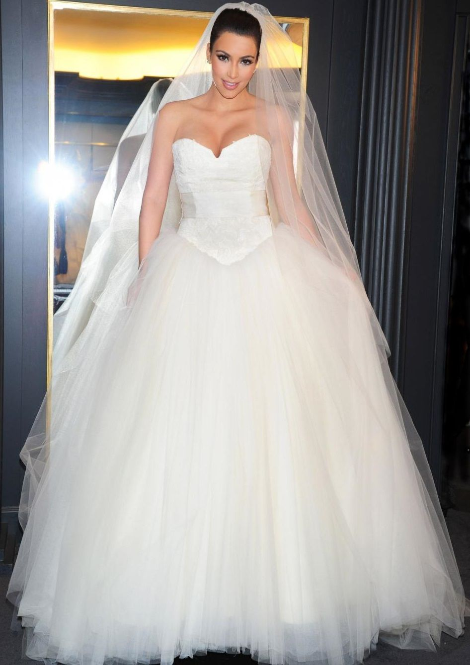 Celebrity Wedding Dresses: Top 12 Most Noticeable Gowns - Kim ...