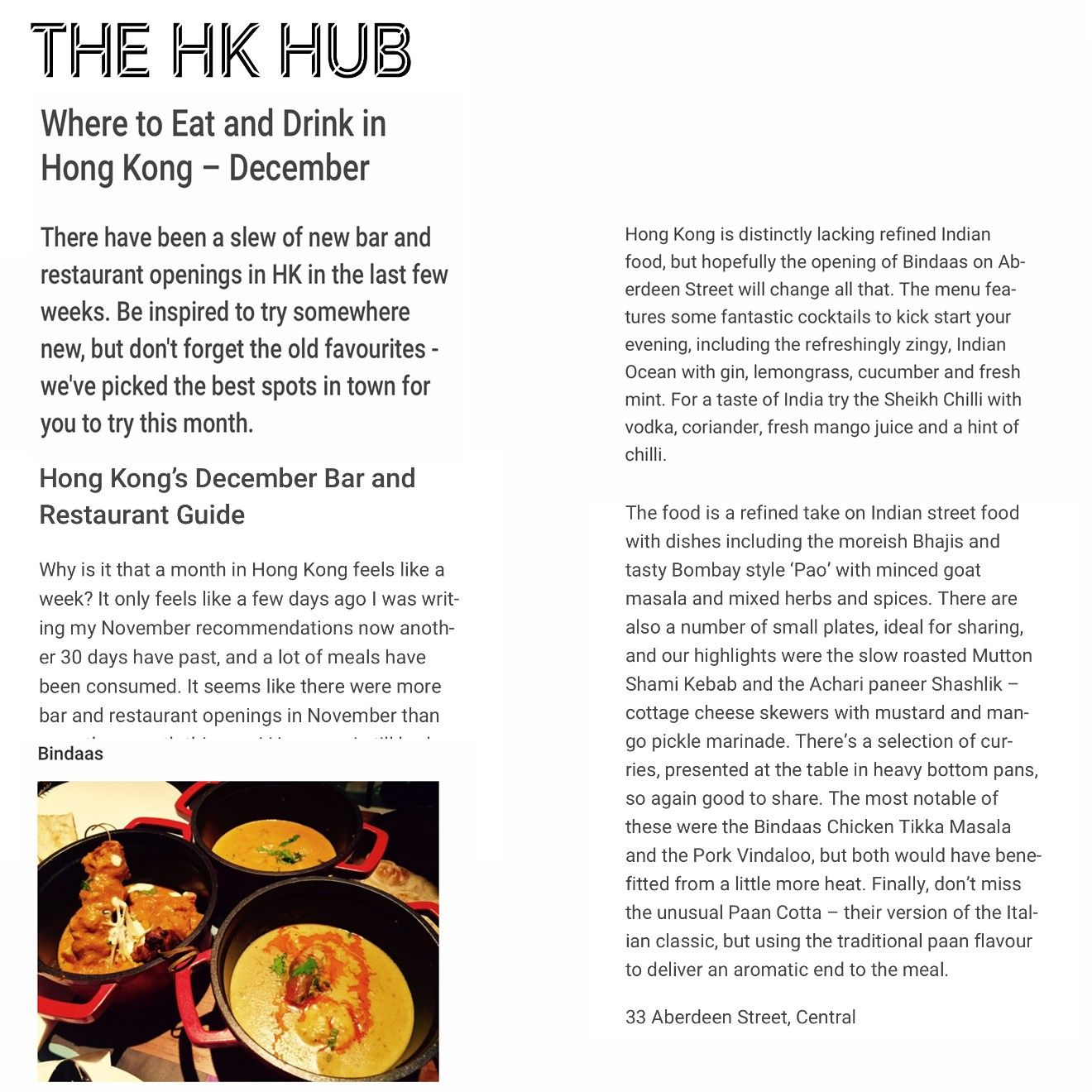 Review By The Hk Hub Thehkhub Com Eat Food Refined