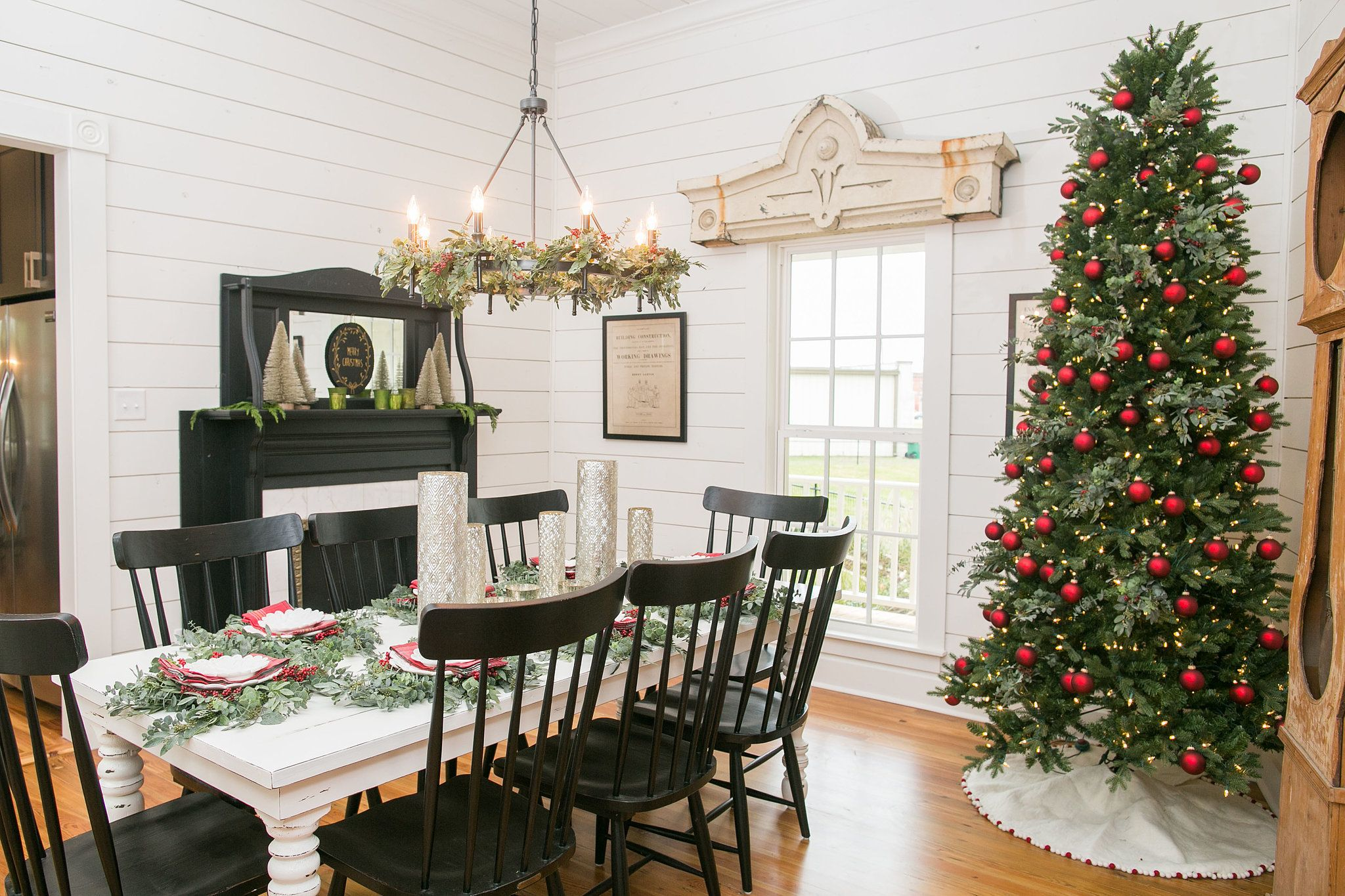 A first look at fixer upper 39 s brand new bed and breakfast for Joanna gaines dining room designs