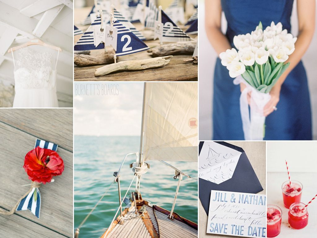 nautical red, white, and blue | Nautical wedding, Wedding themes and ...