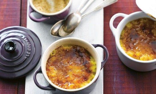 Crème de riz brûlée | A Vos Assiettes