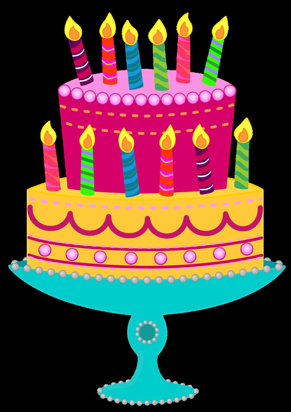 77 Free Birthday Clip Art Birthday cake