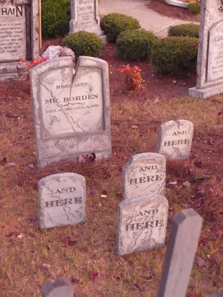 funny mr. borden tombstones, amazing tombstones, epitaphs and