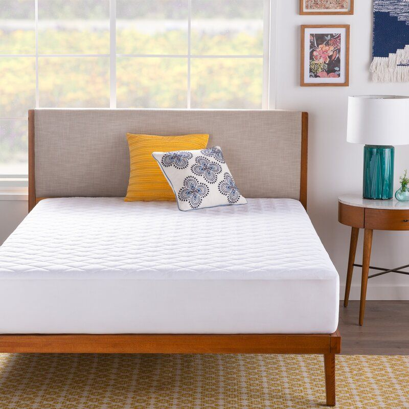 Oakdale Down Alternative Mattress Pad In 2020 With Images Bed