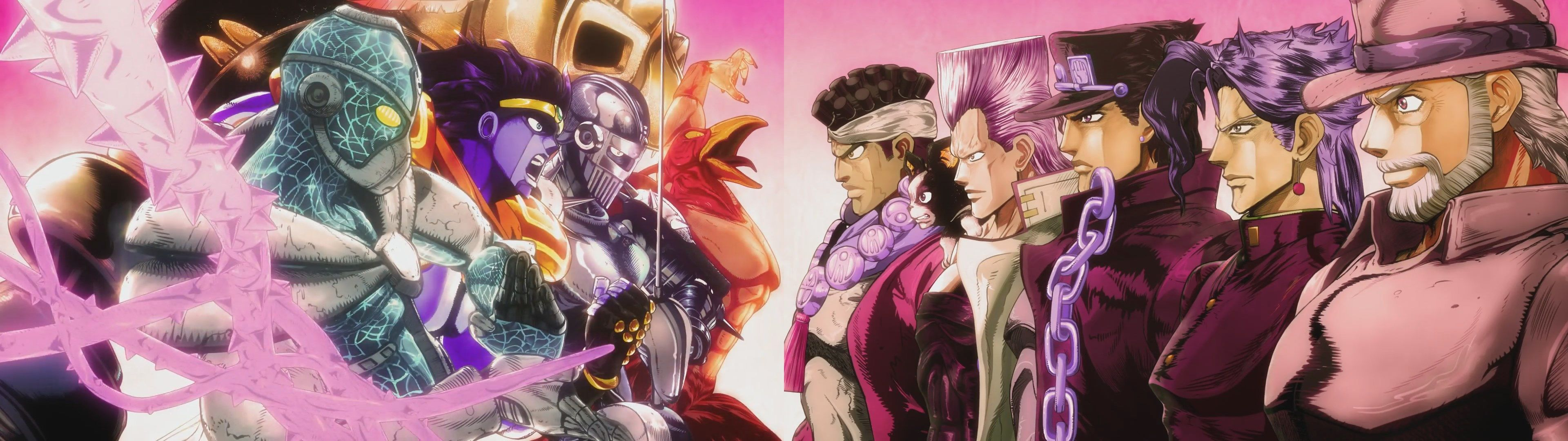 3840x1080 Wallpaper For Desktop Jojos Bizarre Adventure
