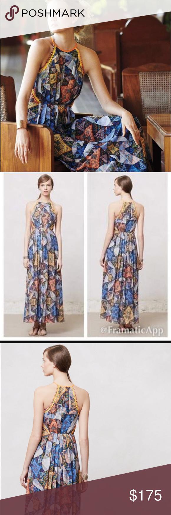 406d38968052 Ranna Gill Condesa maxi dress Ranna Gill Condesa maxi dress. Size small.  Excellent condition. Anthropologie Dresses Maxi