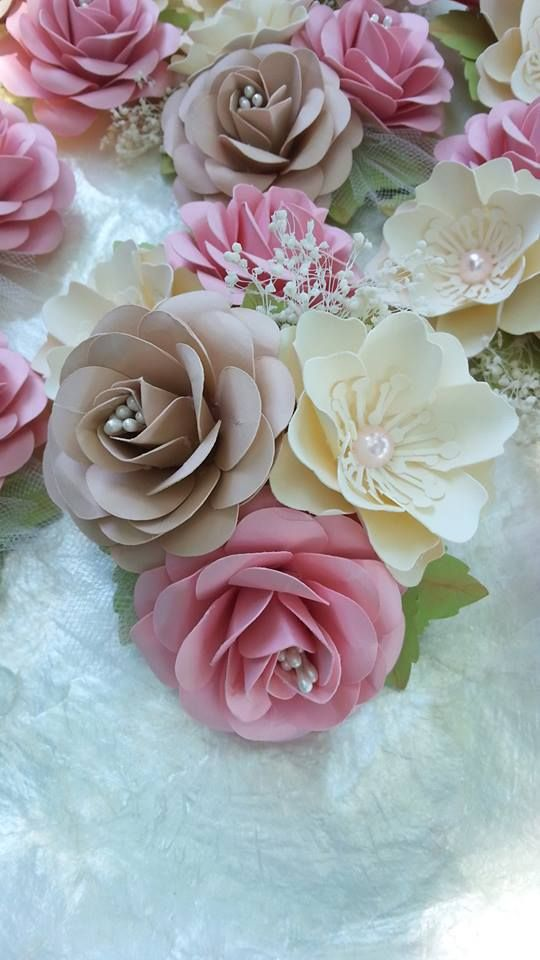 Cybil Stemmed Rose Mini Class Video Tutorials Paper Flowers