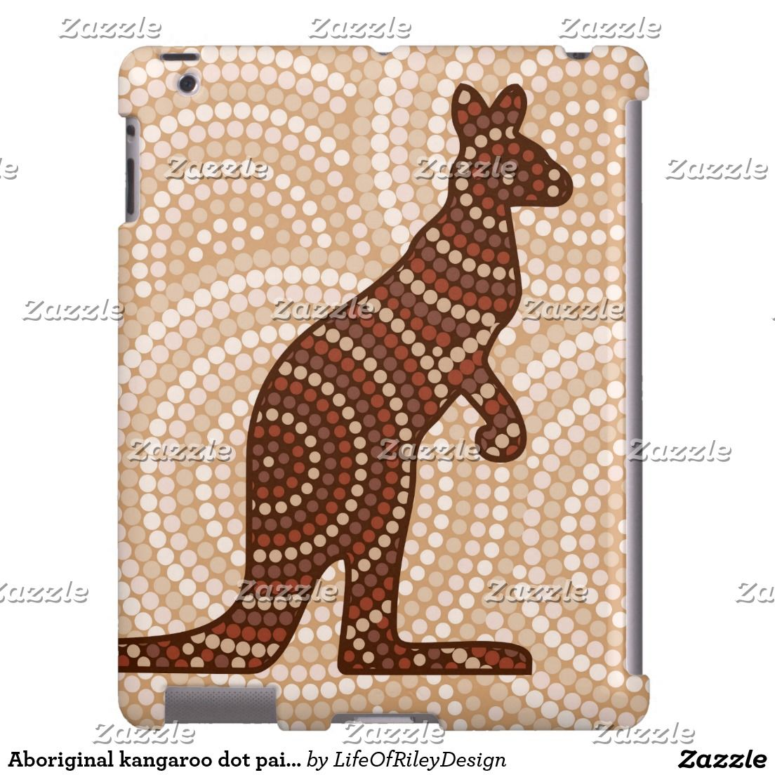 Aboriginal Kangaroo Dot Painting