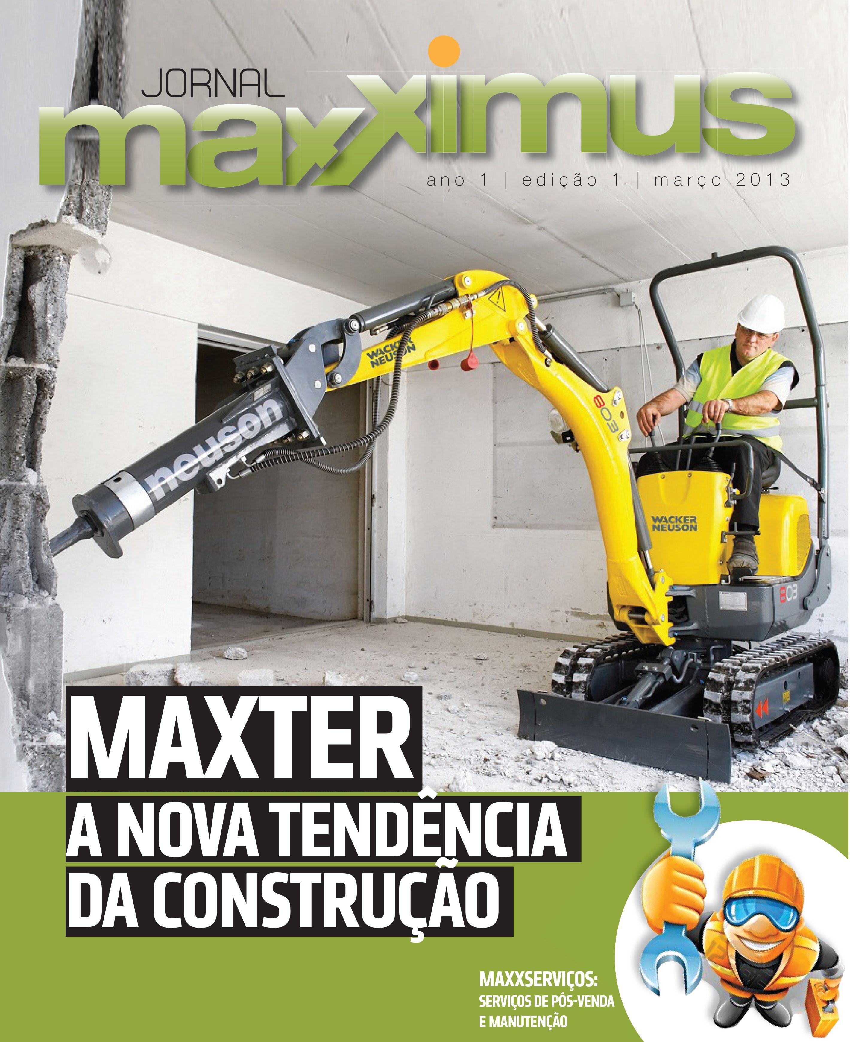 Jornal Maxximus - Cliente: Maxter
