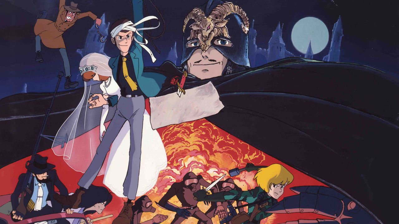 Early Miyazaki anime Lupin the 3rd The Castle of