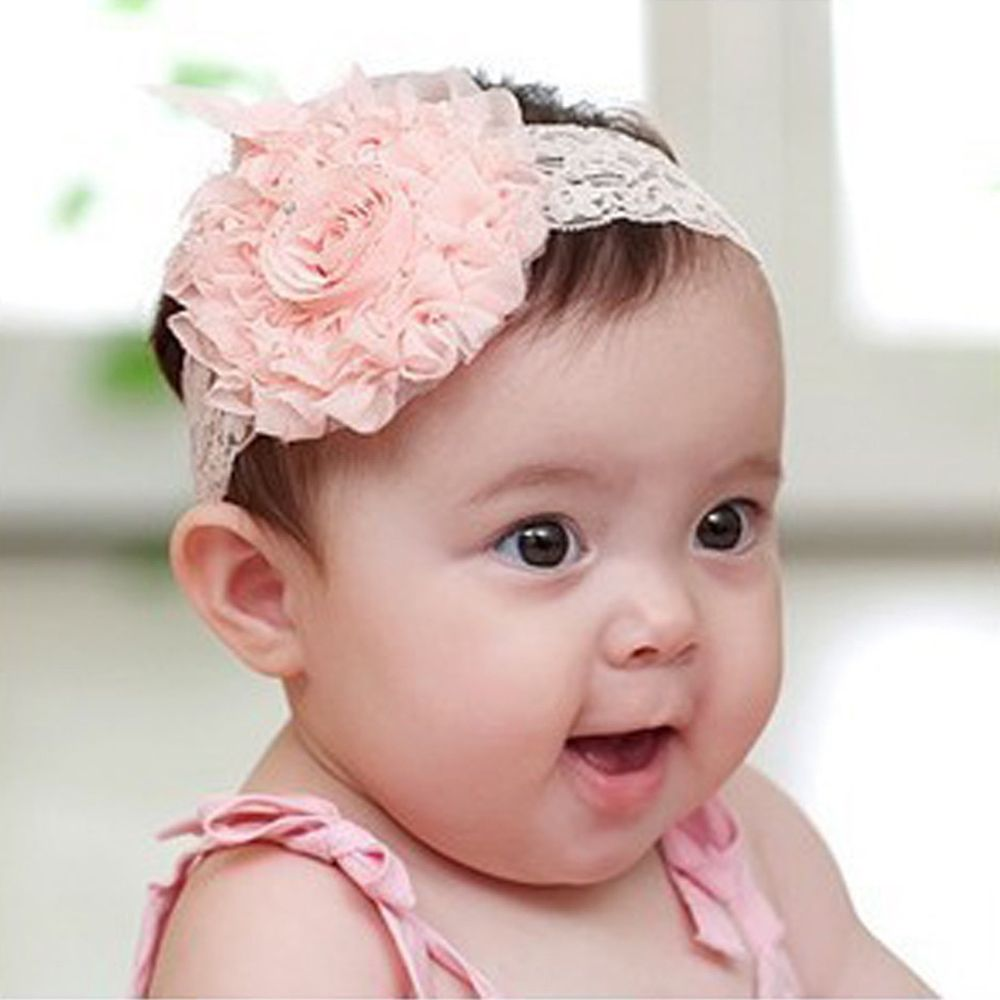 Click to buy 2017 big flower with lace headband newborn headbands click to buy 2017 big flower with lace headband newborn headbands for izmirmasajfo Gallery