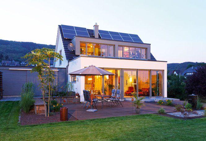 Clever weil mit anbau einfamilienhaus figgen von for Haus anbau modern