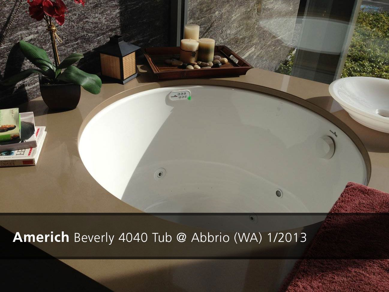Americh Beverly 4040 Tub With Surround
