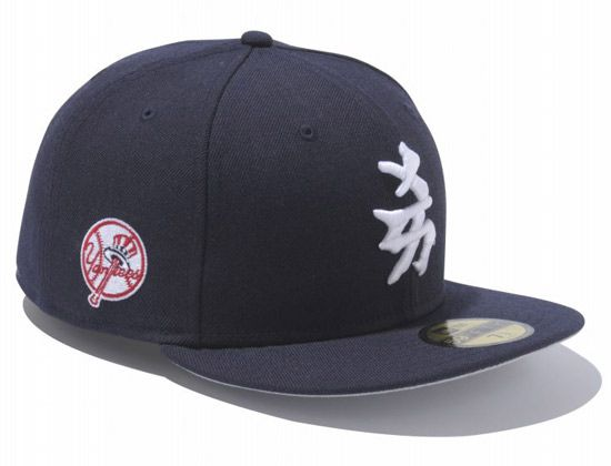 New York Yankees Kanji 59Fifty Fitted Cap by NEW ERA x MLB ... 55bedd29423