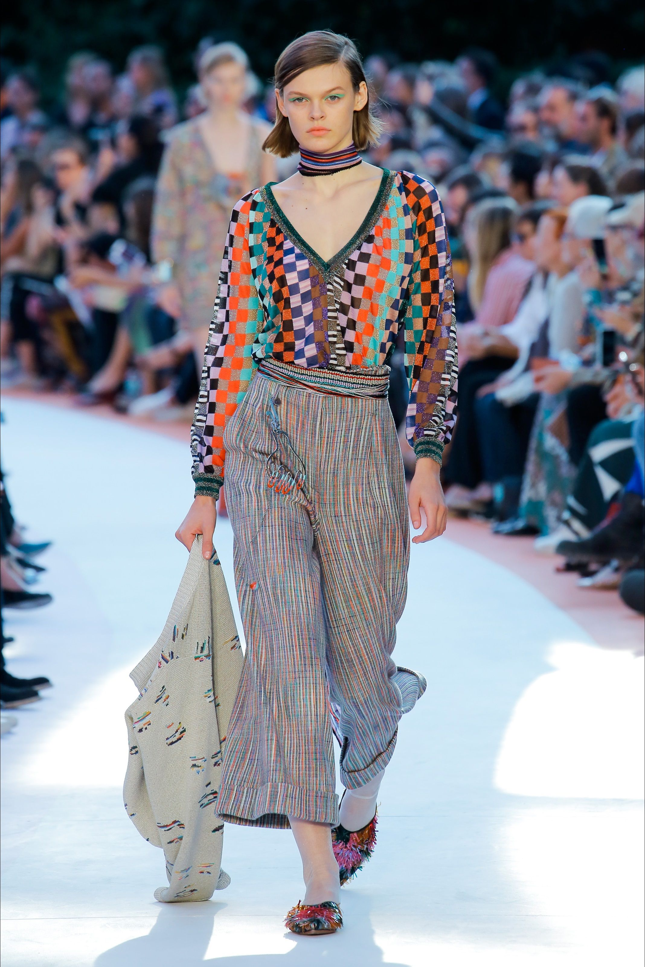 separation shoes fc0c6 3dc99 Guarda la sfilata di moda Missoni a Milano e scopri la ...