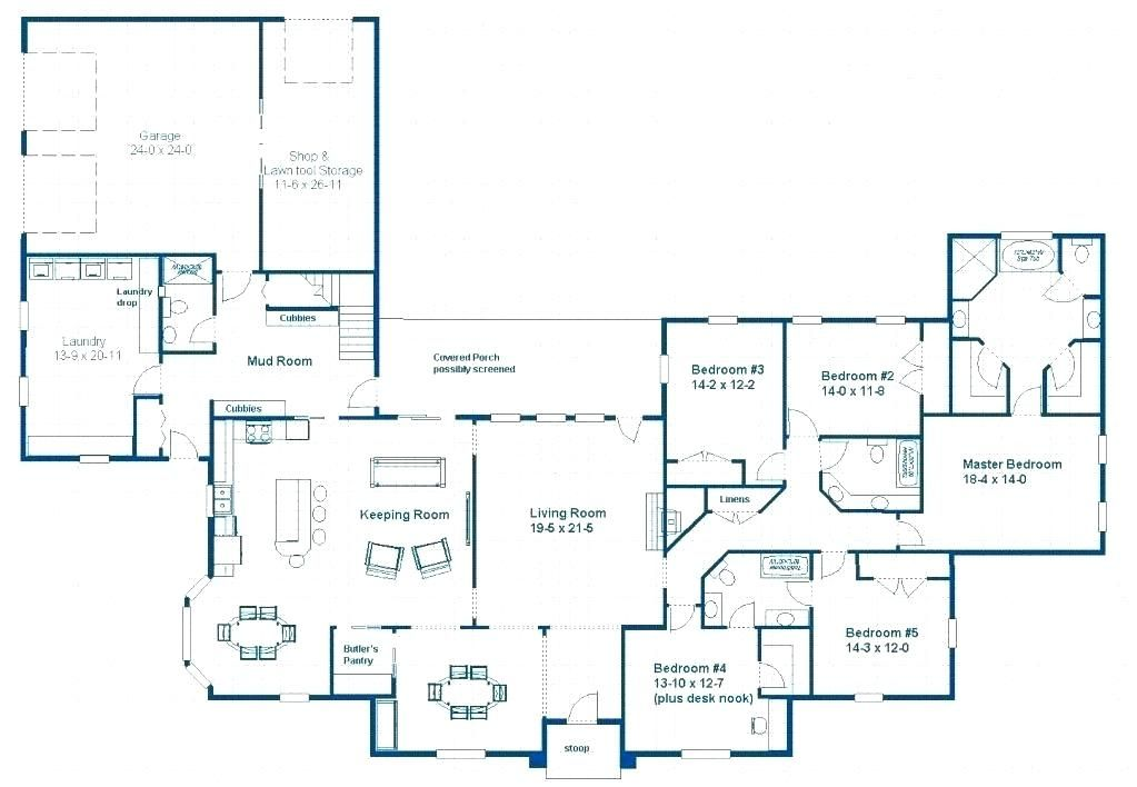 Single Level House Plans With Two Master Suites Fascinating Fascinating Bedroom House Plans Ideas Best Inspiratio Single Level House Plans House Plans