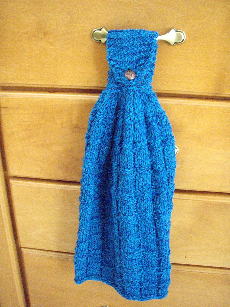 Delightful Ravelry Project Page   Knit Kitchen Towel My Reworked Version Of A Classic  Knit Kitchen Hand