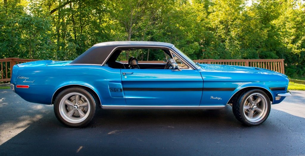 1968 Ford Mustang: California Special. Less than 5,000 were made ...