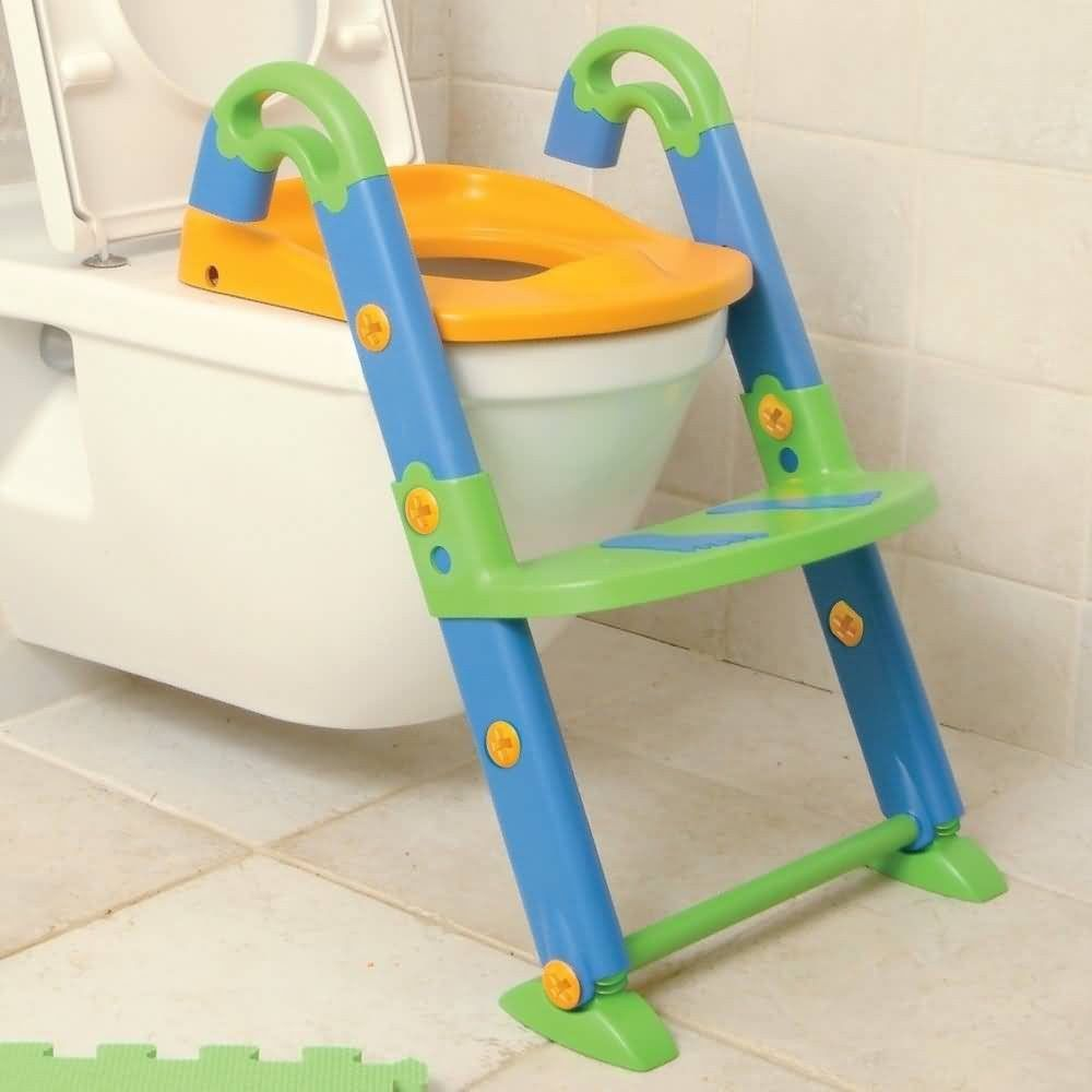 Safe Non-Slip Child Potty Training Toilet Seat Easy Clean Up ...